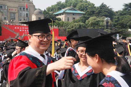 青春印记 梦想启航:武大口腔医学院2017届毕业典礼隆重举行